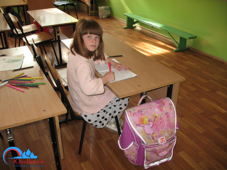 Поездка в школу-интернат № 8, посвященная 71 годовщине победы в Великой Отечественной войне